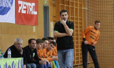Robert Beguš je zelo zadovoljen z osvojenim 2. mestom po koncu rednega dela NLB lige. Foto: Igro Martinšek