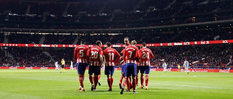 Madridčani so bili v drugem polčasu bolj agresivnejši. Foto: FC Atletico Madrid