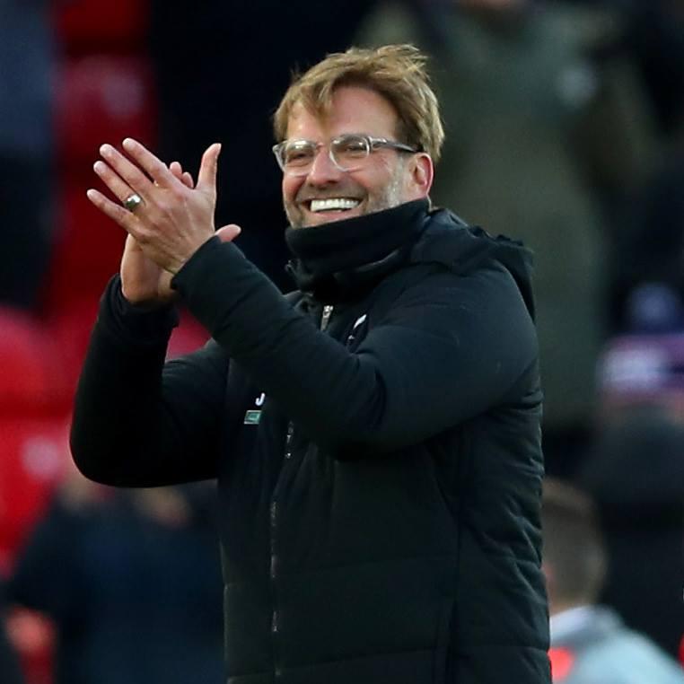 Jürgen Klopp si želi biti tudi danes zelo dobre volje. FC Liverpool