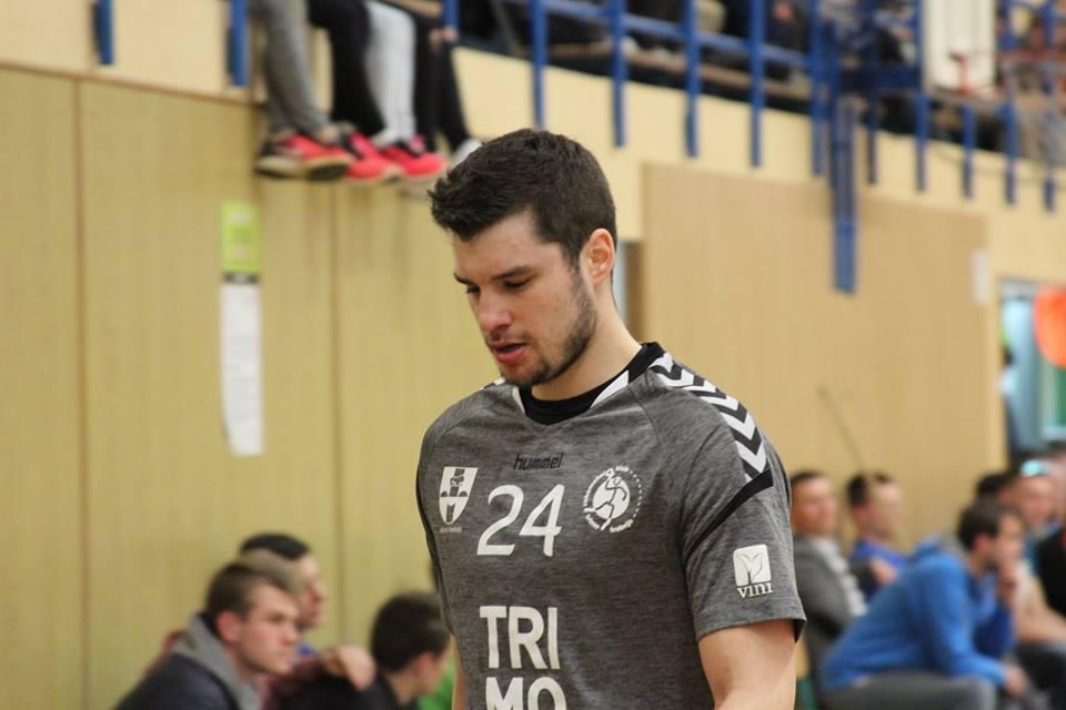 Klemen Sašek je včeraj odigral eno izmed boljših tekem v letošnji sezoni. Foto: RK Trimo Trebnje