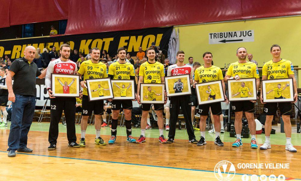 Vsi ti rokometaši bodo zapustili Velenjčane po koncu letošnje sezone. Foto: Jurij Kodrun/RK Gorenje Velenje
