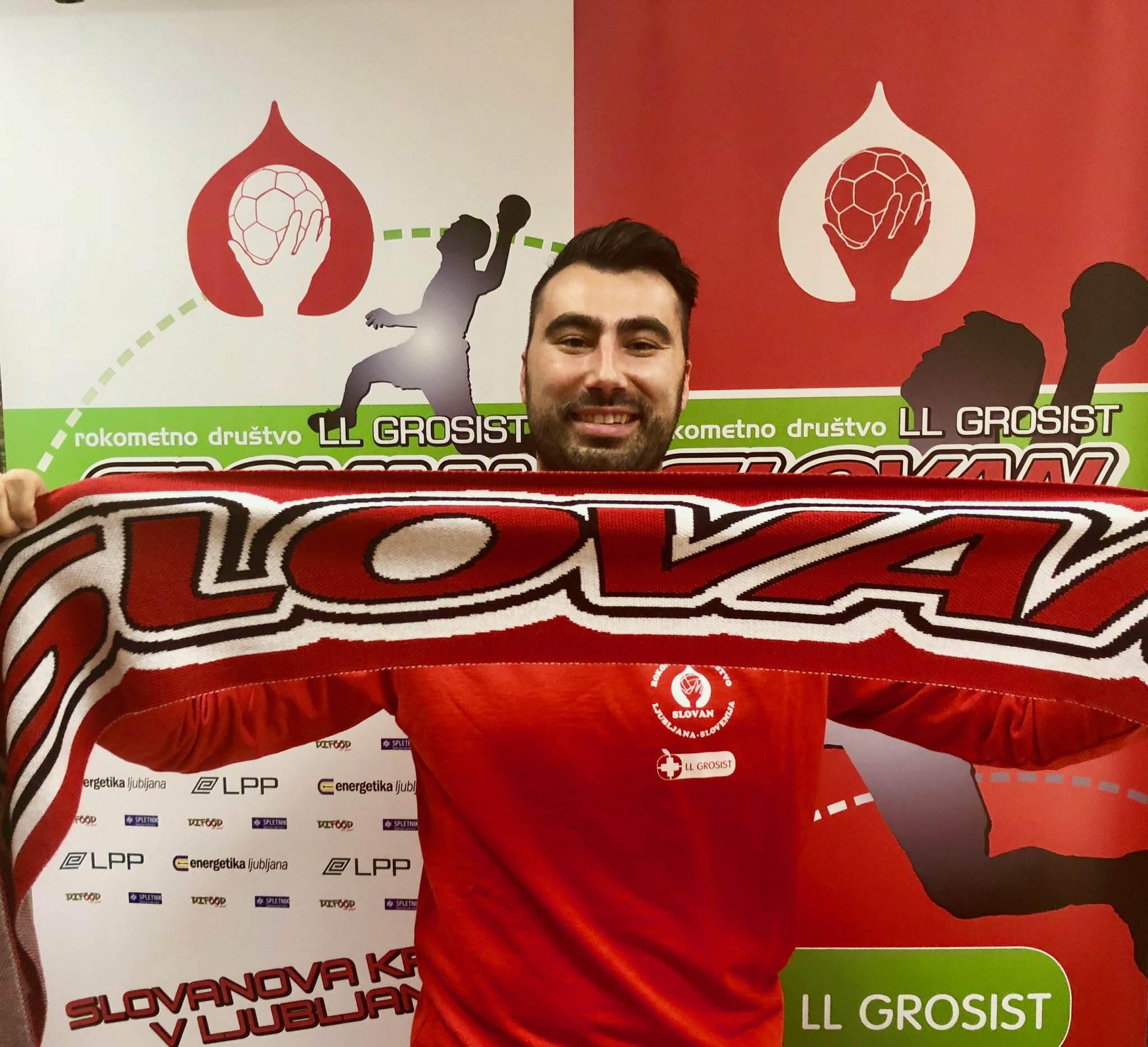 RD LL Grosist Slovan je 4. Ponikvarjev klub v karieri. Foto: RD LL Grosist Slovan