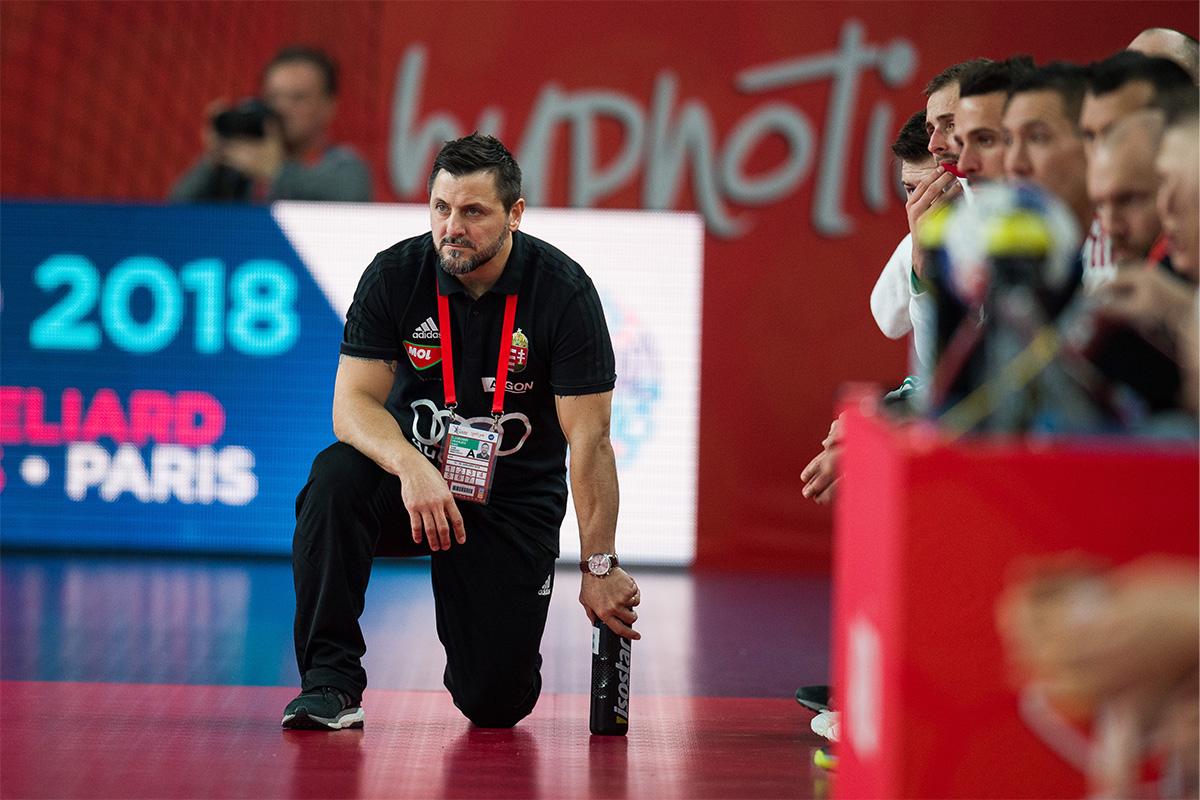 Ljubomirja Vranješa čaka zares težko delo proti Sloveniji. Foto: Saša Pahic Szabo/EHF Euro 2018