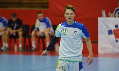 Tilen Kosi bo na mladinskem evropskem rokometnem prvenstvu na domačih tleh zagotovo eden izmed glavnih adutov selektorja Saše Praprotnika. Foto: vszi