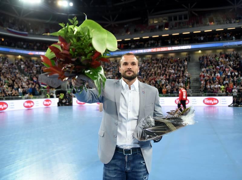 Uroš Zorman se je z reprezentančnega vidika poslovil na tekmi z Nemčijo v mesecu maju 2017. Foto: Slavko Kolar